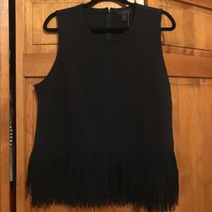 J.Crew Tank Top with Fringe Detail